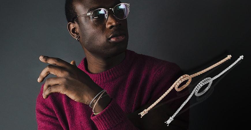 Quattro bracciali in oro per l'uomo che sa cosa desidera