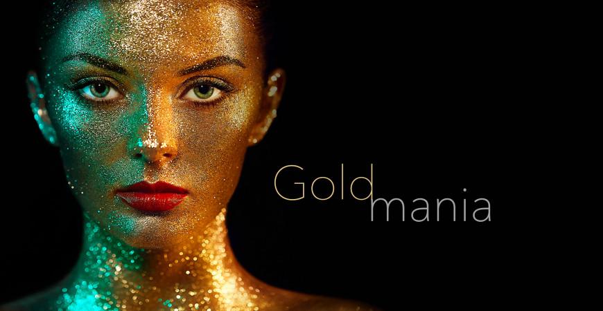 Goldmania: copriti d'oro!