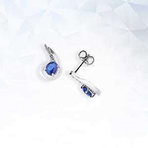 ORN2678BBZ_orecchini_oro_bianco_elementi_pendenti_oro_diamanti_zaffiri_gioielli_di_valenza