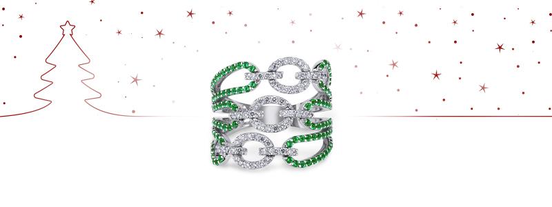 natale-2018-ANN2552BBS-Anello-oro-bianco-18k-con-smeraldI-diamanti-2-gioiellidivalenza
