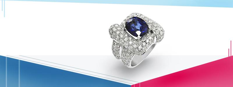 Anello-oro-bianco-18k-con-diamanti--zaffiri-blu-AN620BBZ-gioielli-di-valenza