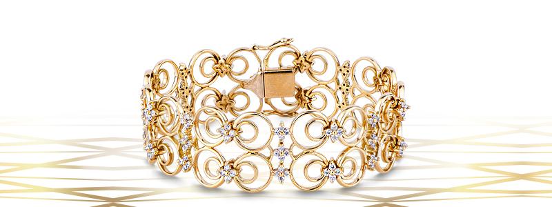 Bracciale-in-oro-Giallo-18k-con-maglie-lavorate-e-diamanti-TUBR015GB-gioielli-di-valenza