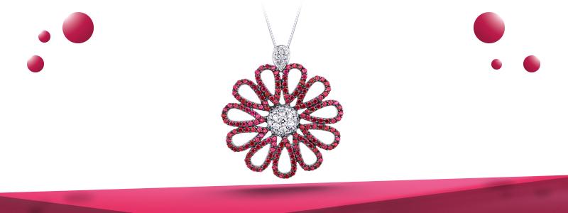 Collana-con-fiore-oro-bianco-18k-con-diamanti-rubini-CIN1735BBR-gioielli-di-valenza