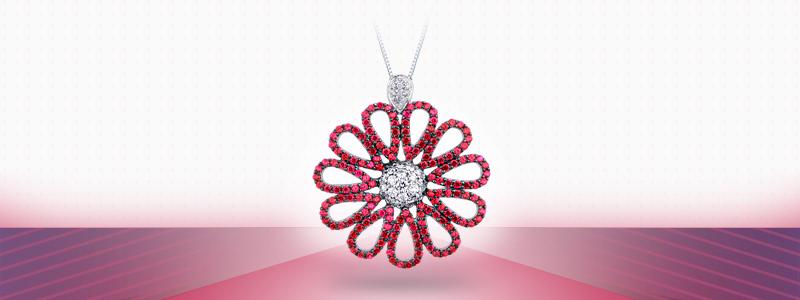 CIN1735BBR-collana-con-fiore-in-oro-bianco-18k-con-diamanti-rubini-gioielli-di-valenza
