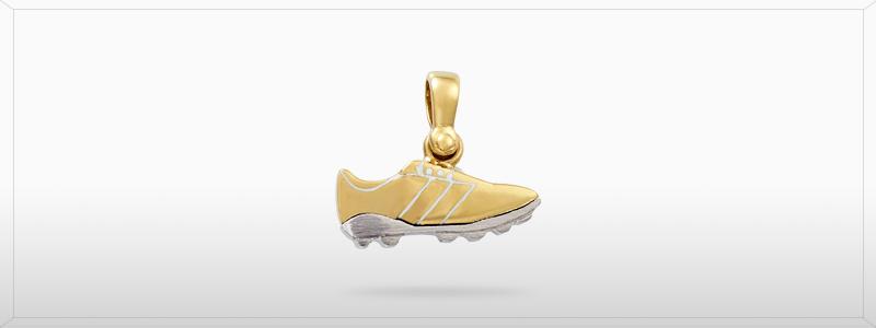 164127-Ciondolo-Scarpetta-calcio-oro-giallo-e-oro-bianco-18kt-gioielli-di-valenza