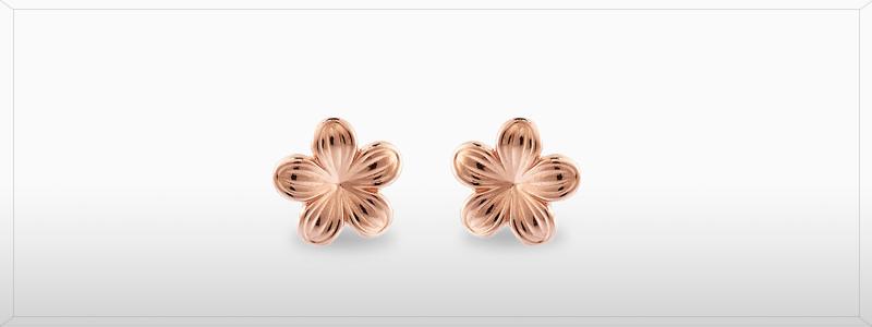 200782-Orecchini-oro-rosa-fiorellini-gioielli-di-valenza