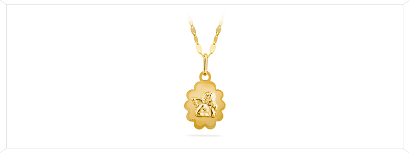 Selezione1-Catenina-con-Medaglia-sacra-Angelo-in-oro-giallo-18kt-gioielli-di-valenza