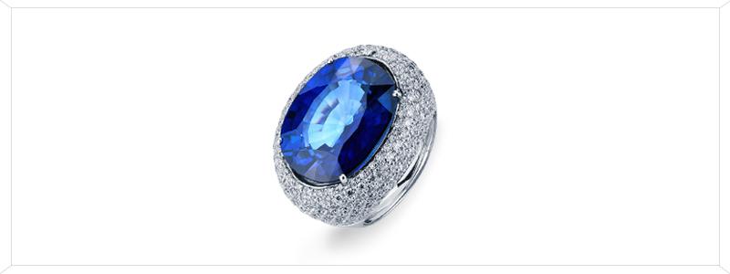 ANN2712BBZ-Anello-in-Oro-bianco-18k-con-zaffiro-blu-e-pavè-di-diamanti-gioielli-di-valenza