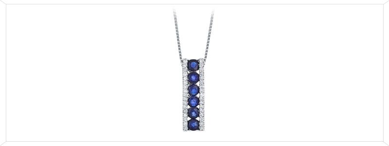 CIN1295BBZ-Collana-in-oro-bianco-18k-con-ciondolo-in-zaffiri-e-diamanti-gioielli-di-valenza