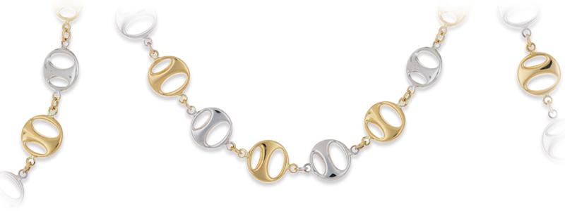 AGB213142CL-Collana-in-Oro-Giallo-18kt-con-elementi-tondi-forati-in-oro-bianco-e-giallo-gioiello-di-valenza