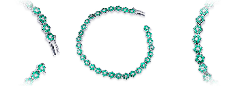 SCBRA2106BBS-bracciale-in-oro-bianco-18k-con-fiori-in-smeraldo-e-diamanti-gioielli-di-valenza