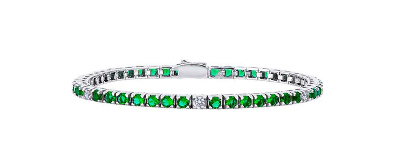 XBRT200VEB-18-bracciale-tennis-in-argento-925-con-zirconi-verdi-gioielli-di-valenza