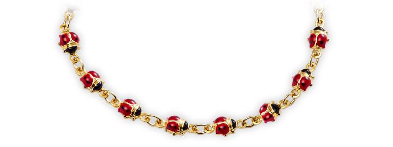 132291-Bracciale-in-oro-giallo-18kt-con-coccinelle-smaltate-gioielli-di-valenza