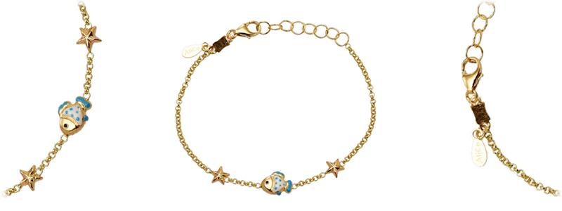 178483-Braccialetto-con-pesciolino-e-stelle-marine-in-oro-giallo-18kt-gioielli-di-valenza
