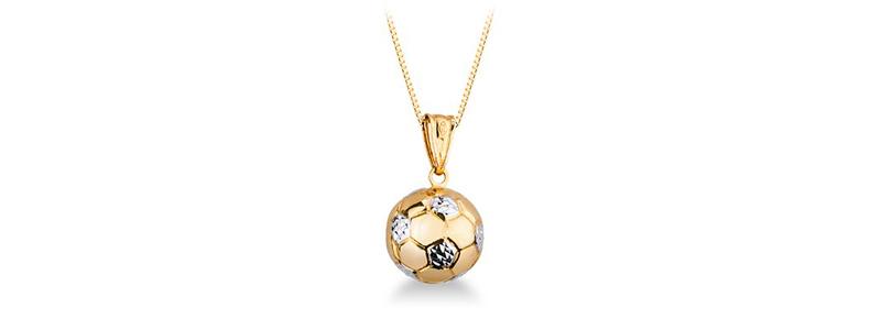 Selezione-8-catenina-veneziana-con-ciondolo-pallone-calcio-in-oro-bianco-e-giallo-18kt-gioielli-di-valenza