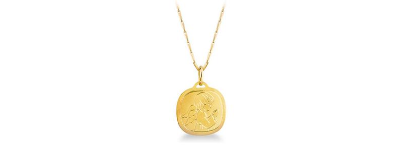 selezione2-catenina-barrette-con-Medaglia-sacra-Angelo-in-oro-giallo-18kt-gioielli-di-valenza