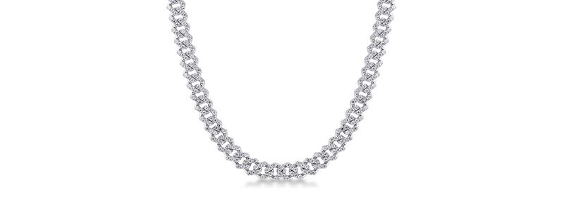 NGIRCUBA02BB-Collana-maglia-Cuban-Link-in-oro-bianco-18k-con-Diamanti-gioielli-di-valenza