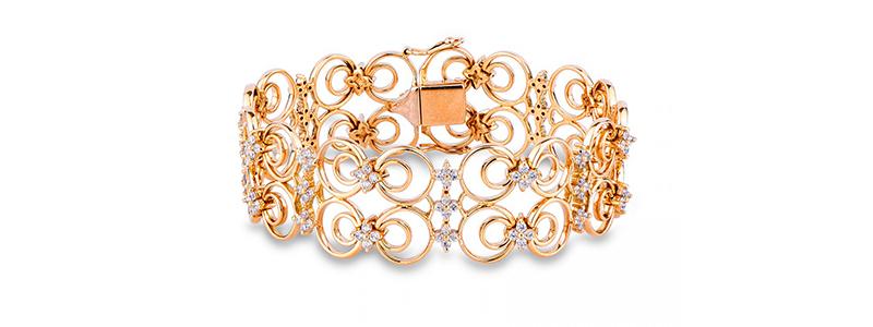 TUBR015GB-Bracciale-in-oro-Giallo-18k-con-maglie-lavorate-e-diamanti-gioielli-di-valenza