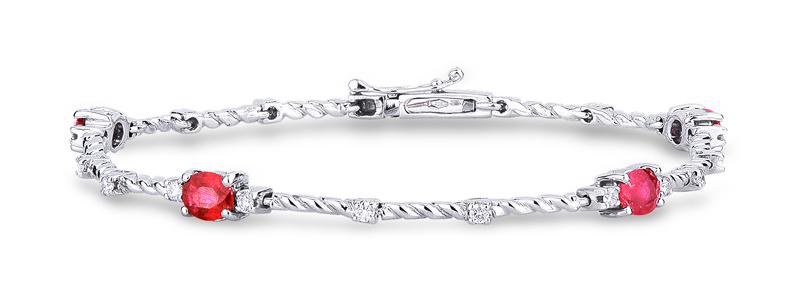 TUBR4602BBBR-Bracciale-in-oro-bianco-18k-con-diamanti-e-rubini-gioielli-di-valenza